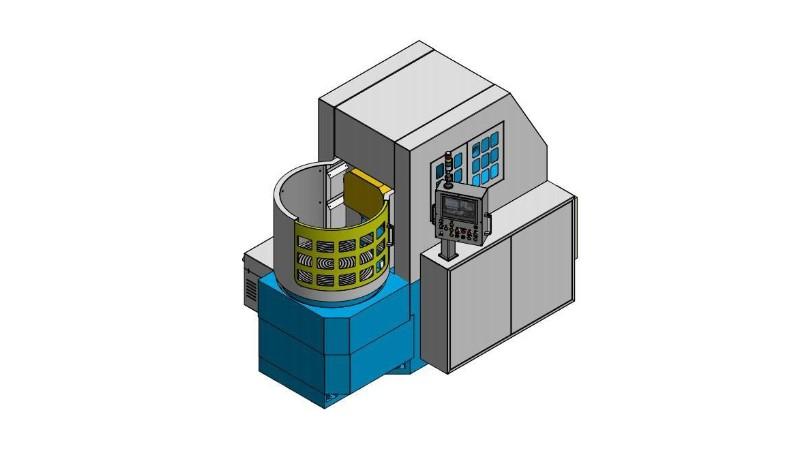 数控圆台平面磨床磨削工件出现振纹如何排查